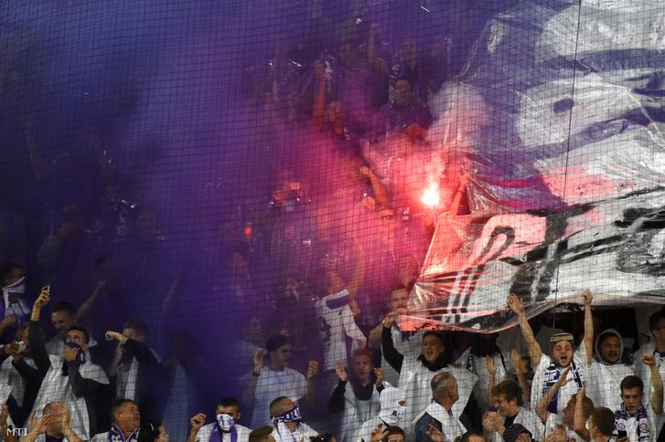 A Fradi-Újpestre több mint 11 ezren voltak kíváncsiak