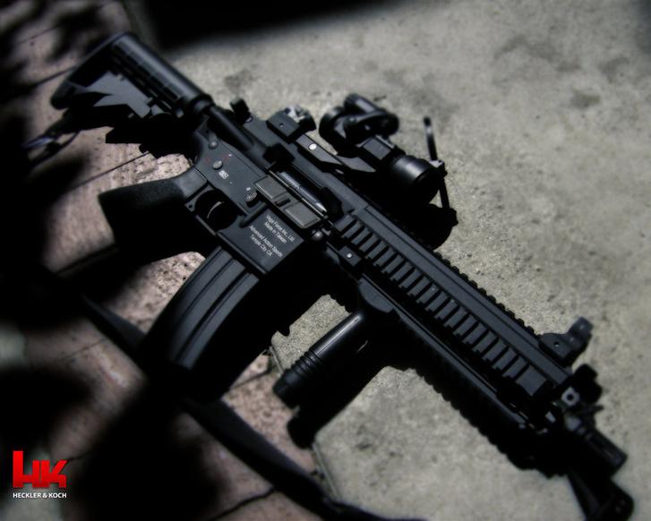 A HK 416-os