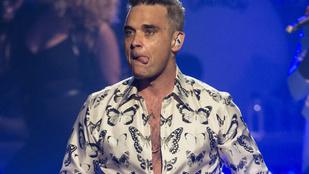 Robbie Williams még mindig tudja, mitől döglik a légy