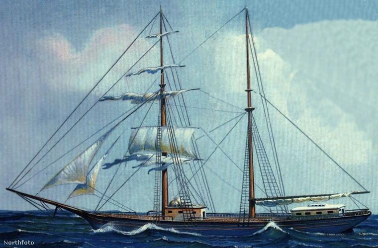 A Mary Celeste névre keresztelt amerikai vitorláshajót 1872