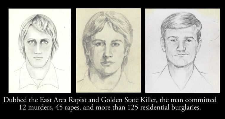 Azeredeti éjjeli vadász néven emlegetett bűnöző 1979 és 1986 között a Kalifornia állambeli Sacramento megyét tartotta rettegésben: több mint 120 lakásba tört be, megerőszakolt 45 nőt és 12 gyilkosságot követett el