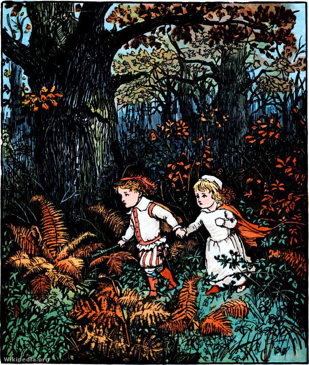 Woolpit zöld gyermekeinek legendája a 12
