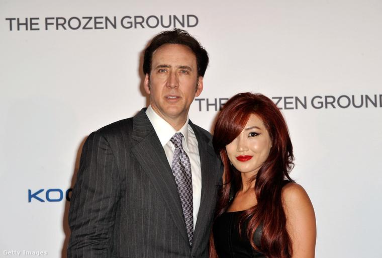 Nicolas Cage és Alice Kim
