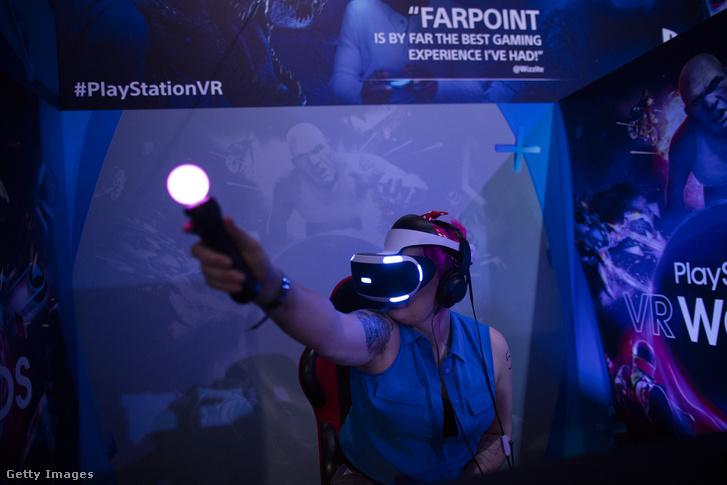 A Sony Playstation VR kiegészítői