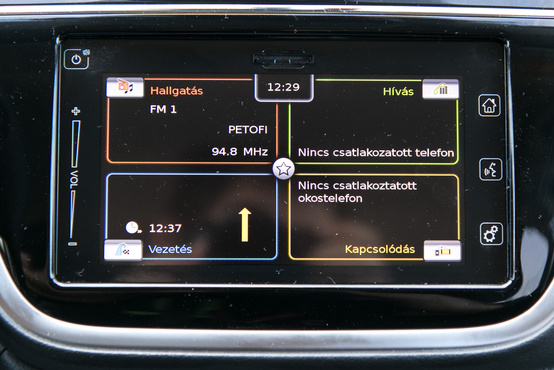 Egy Bosch-tól készen megvásárolható eszköz dolgozik az S-Crossban