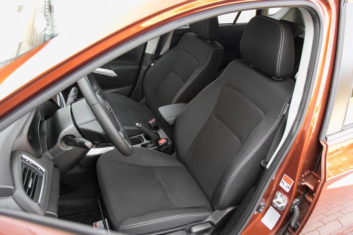 Nem egy Dacia-szint, de azért ültem már kényelmesebb ülésben