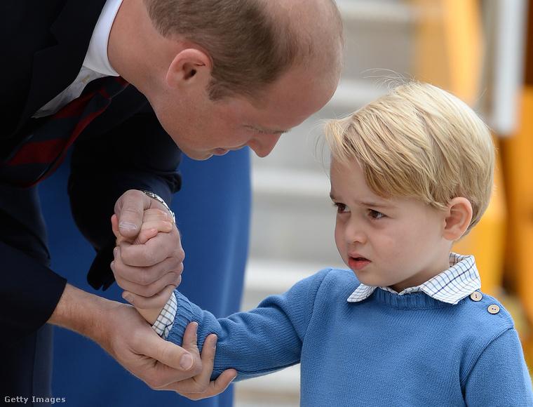 Vilmos herceg igyekezett meggyőzni őt, hogy jó lesz.