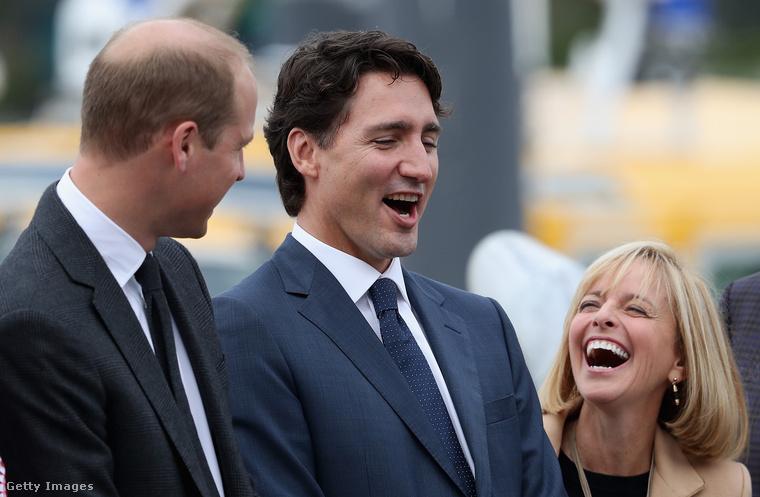 Vilmos herceg és az angol humor Kanadában is nagy sikert aratott.
