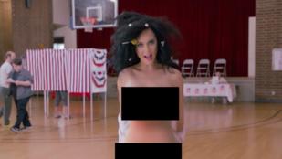 Katy Perry meztelenül buzdít szavazásra