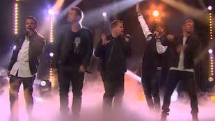 Így tért vissza a Backstreet Boys