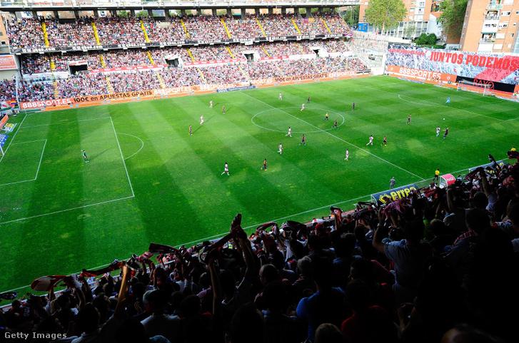 A Rayo Vallecano stadionja