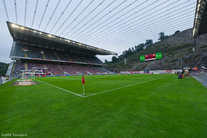 A Sporting Braga stadionja