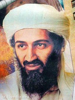 A fiatal bin Laden