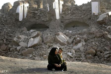 6,3-as erősségű iráni földrengés 2003-ban