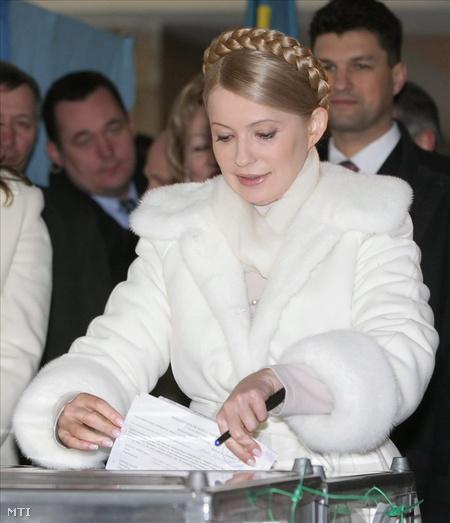Julija Timosenko leadja a voksát