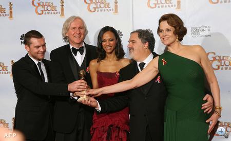 James Cameron és színészei