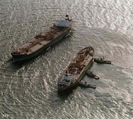 A Exxon Valdez ürítése 89-ben