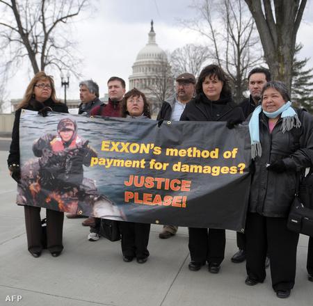 Igazságért tüntetők Washingtonban