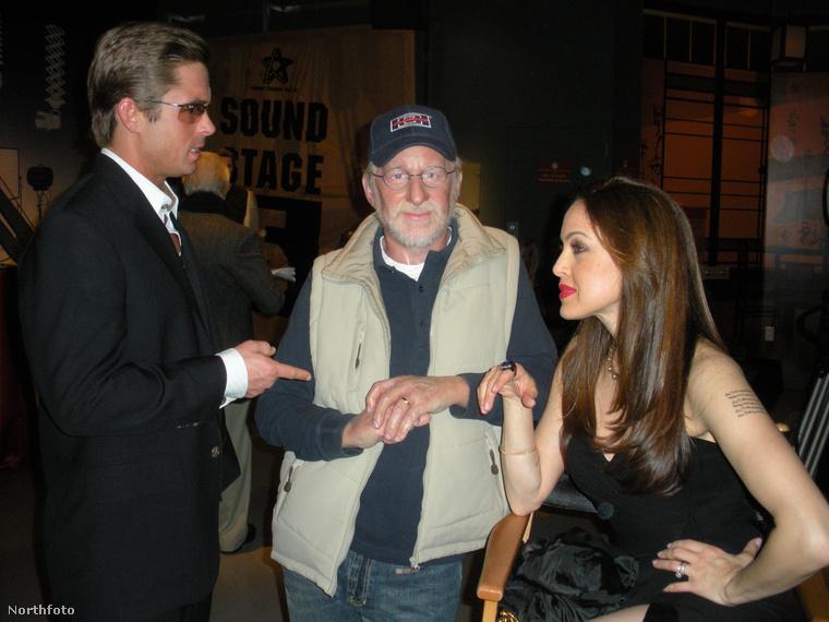 Steven Spielberg!   Viaszfigurája.