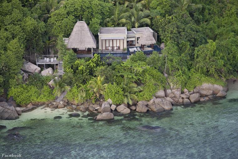 A Maia Luxury Resort and Spa luxushotel villájában 1800 dollárba, közel 500 ezer forintba kerül egy éjszaka