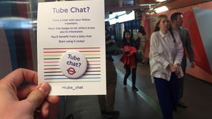 Vadidegenekkel beszélgetni a metrón? Még London sincs erre felkészülve!