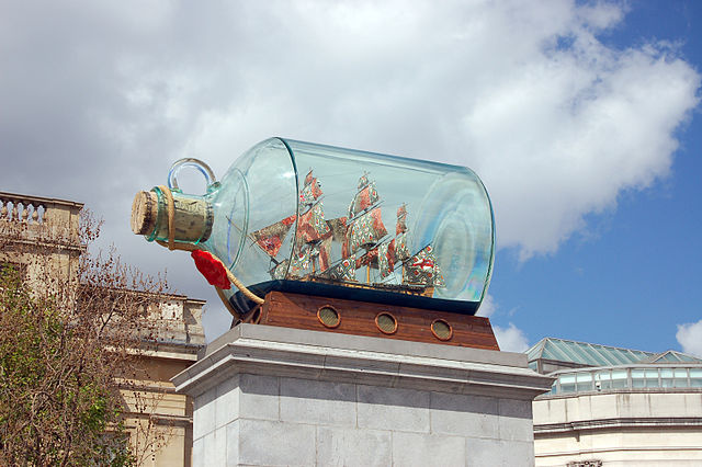 The Fourth Plinth, Trafalgar Square, London (4656046804)