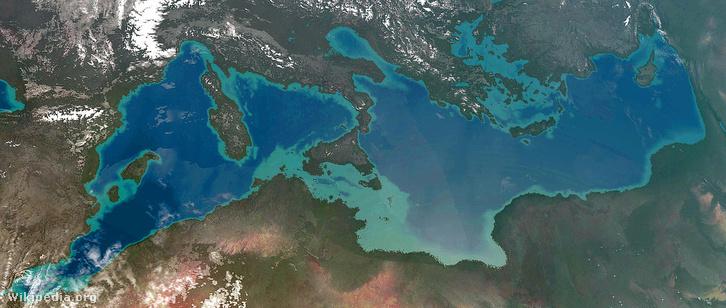Így nézett volna ki Atlantropa az űrből