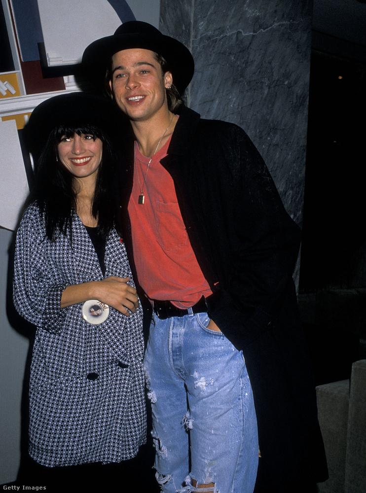 Jill Schoelen a Cutting Class című felejthető horrorfilm forgatásán jött össze Brad Pittel, még 1989-ben