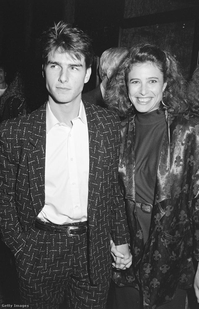 Tom Cruise első felesége Mimi Rogers volt, akivel a 80-as évek végén voltak együtt