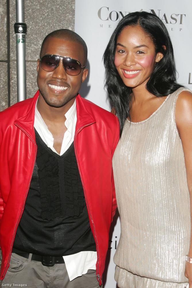 Alexis Phifer grafikus hat évig volt együtt Kanye Westtel 2002 és 2008 között