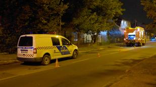 Holttestet találtak egy Felsőcsatári úti melléképület tűzénél