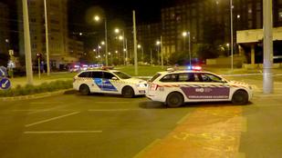 Késelés miatt zárták le a Kőrösi Csoma Sándor utat