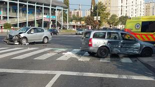 4 sérültje van az Újpesten történt karambolnak