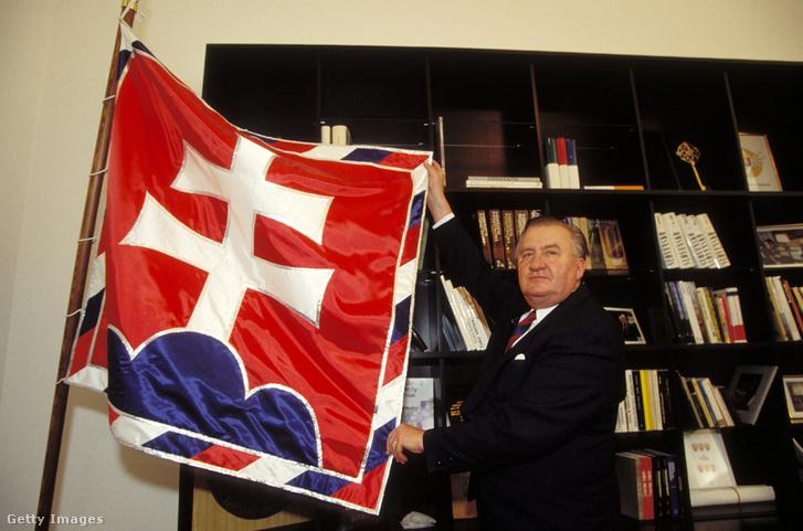 Michal Kovác 1993-ban.