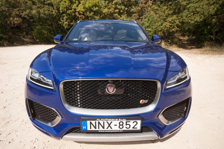 Bizonyos szögekből, spéci objektívvel ez is csak egy Jaguar