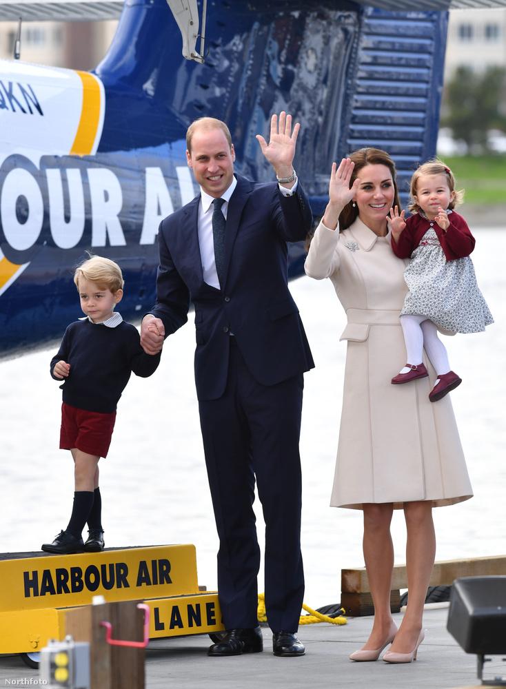 Persze vághatnak pofákat a hercegi kölykök, akkor is ők lesznek a világ legtökéletesebb családja.