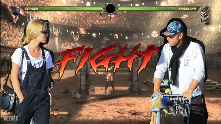 Nehéz tagadni: szinte olyan kedélyes volt a bevásárlás, mint egy Mortal Kombat videójáték-csata.