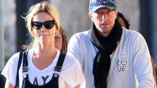 Chris Martin és a barátnője szerelmesek és boldogok. Elvileg