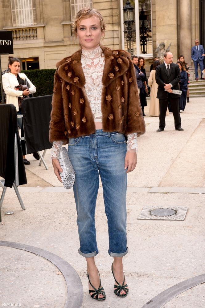 Diane Kruger több tervező ruháit is megcsodálta, Dior után Valentinóét is