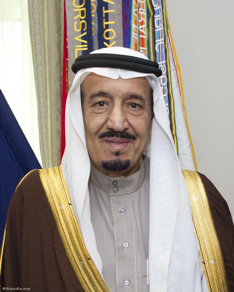 Szalman szaúdi király
