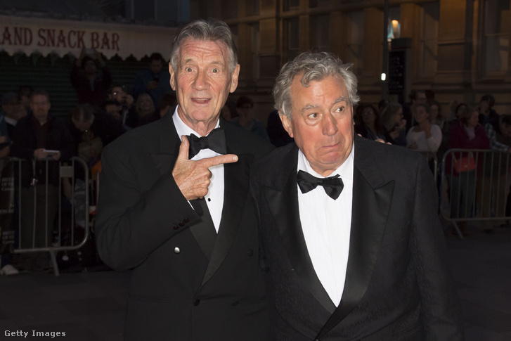Michael Palin és Terry Jones (jobbra)