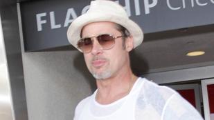 Brad Pitt nagyon rossz passzban van