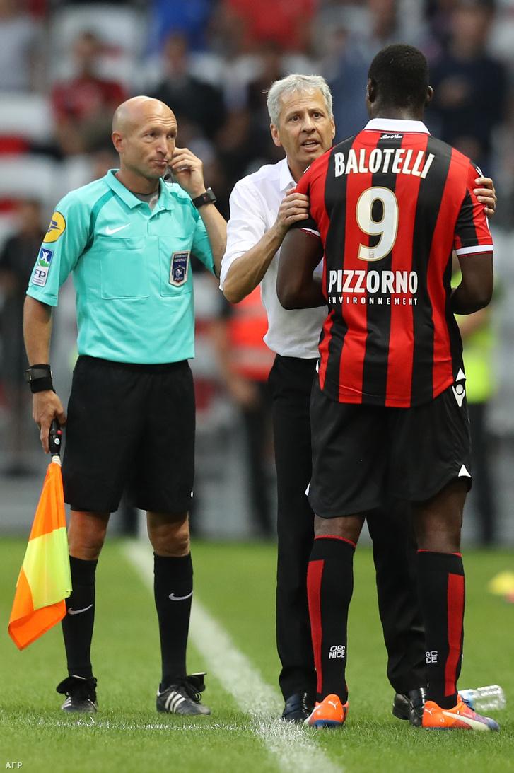 Favre és Balotelli eddig jó páros