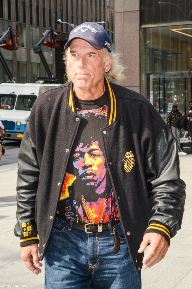 Jesse Ventura a Rolling Stones testőre volt.