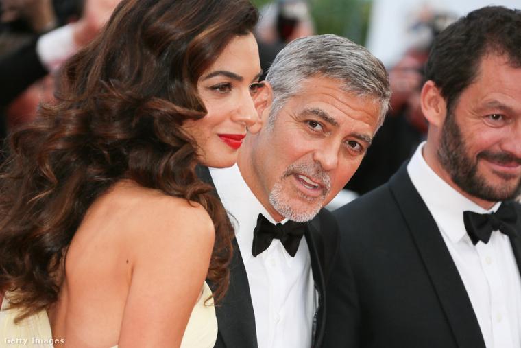 Amal és George Clooney.