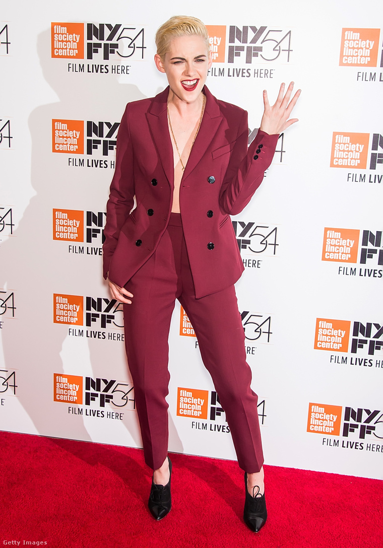 Kristen Stewart a Certain Women című film New York-i premierjén.