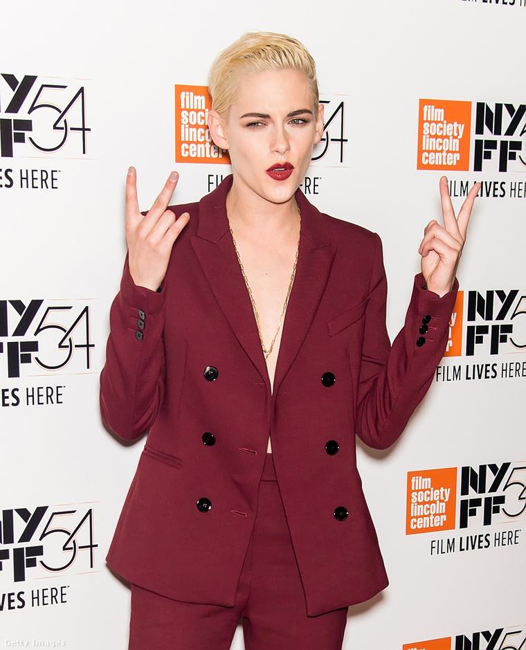 Kristen Stewart a Certain Women című film New York-i bemutatóján.