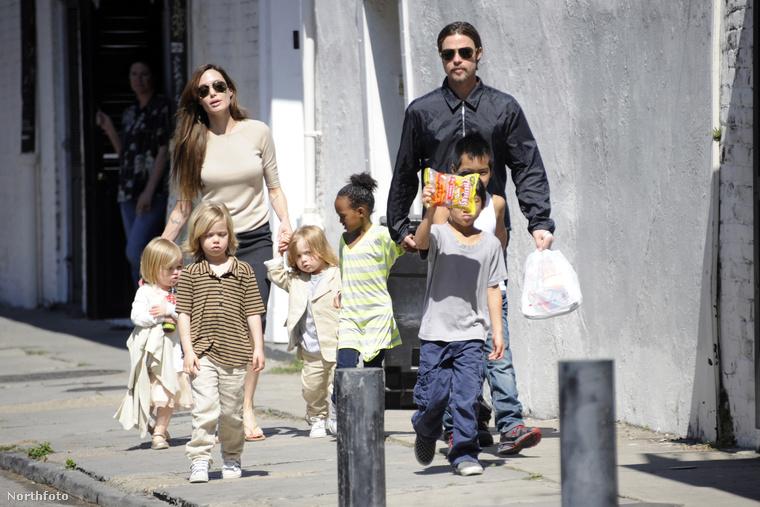 Szeptember 20-án megírtuk, hogy Angelina Jolie elválik Brad Pittől