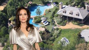 Angelina Jolie ilyen luxus környezetben válik