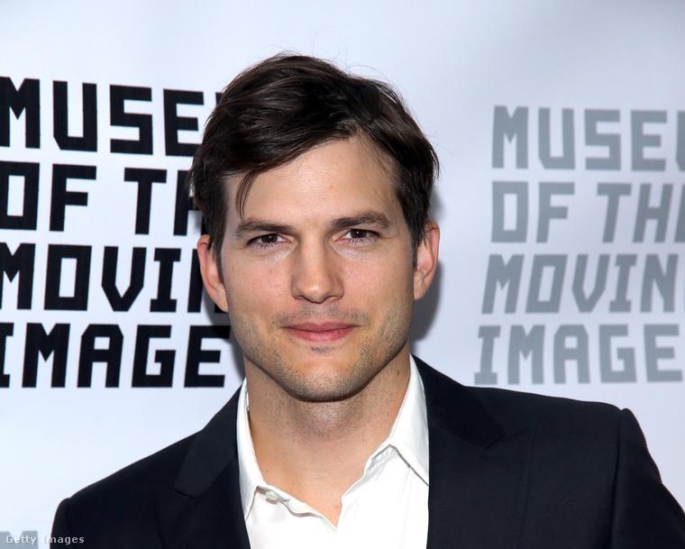 Ashton Kutcher egészségügyi mérnöknek tanult, de otthagyta a sulit, hogy modellkedhessen